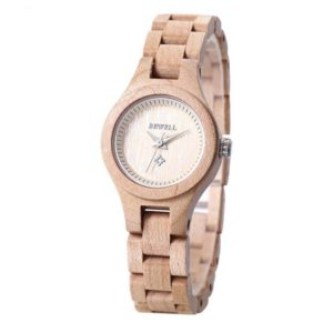 Bewell Bamboo Wooden Watch