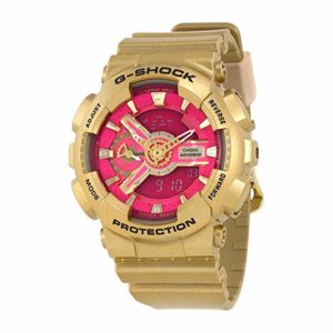 Casio G-Shock Gold and Pink Dial
