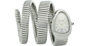 Serpenti Tubogas Stainless Steel Double Twist Watch